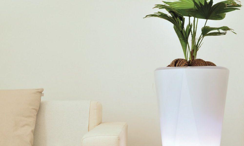 pot fleurs intelligent