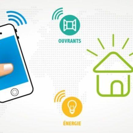 smartphone systeme domotique